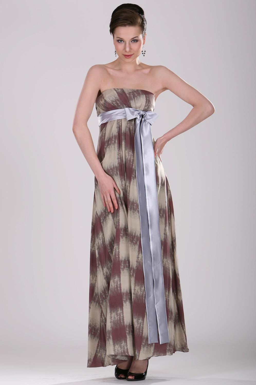eDressit Elegant Strapless Imprimée Robe de Soiree (00098668)