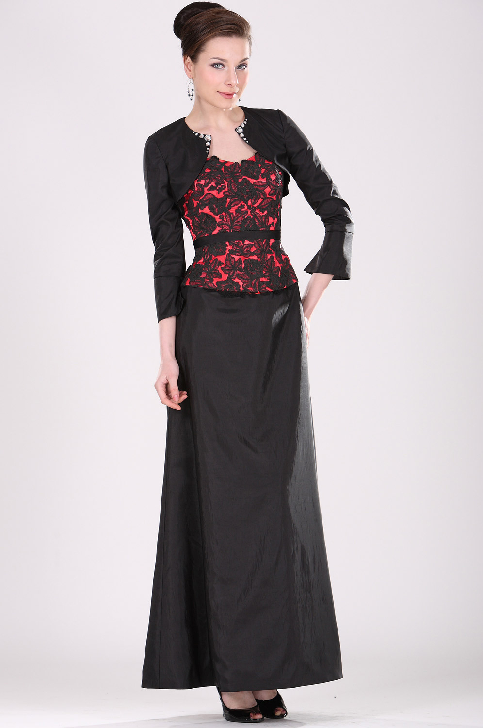 eDressit Elegant Mother of the Bride Dress with Bolero (26100700)