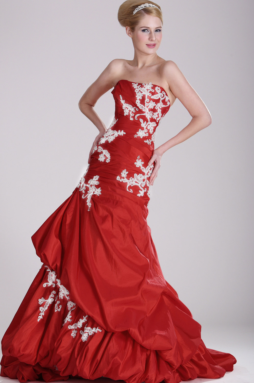 eDressit Charming Red Bal Robe (28101602)