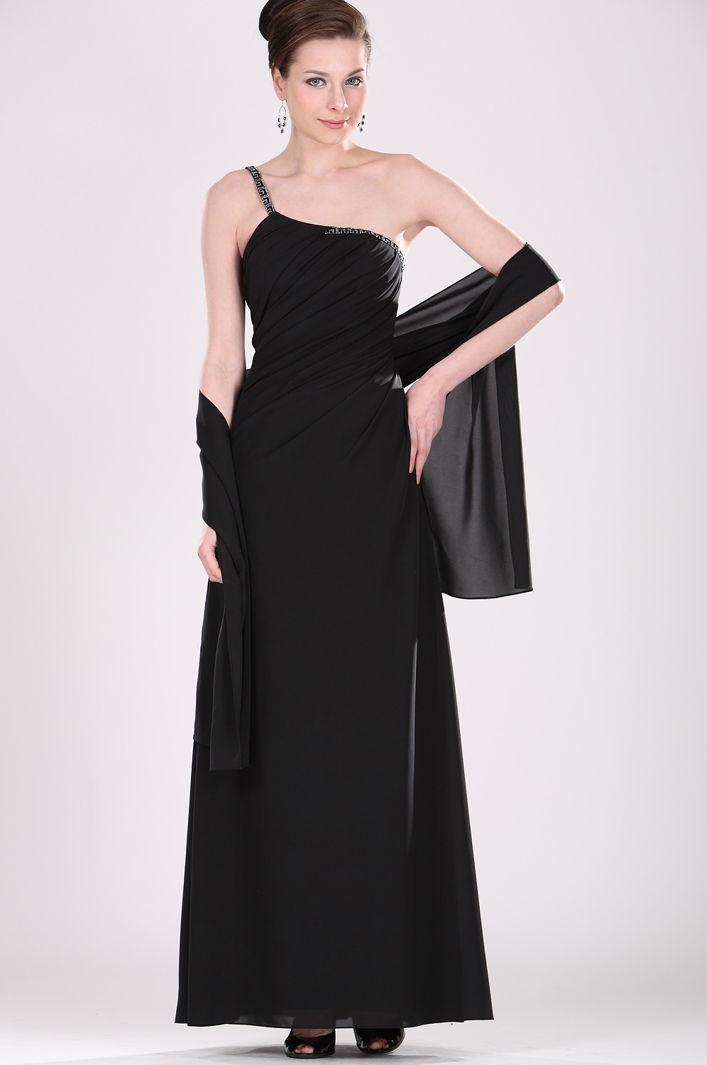 eDressit New Mother of the Bride Dress Evening Dress with Shawl (26100600)