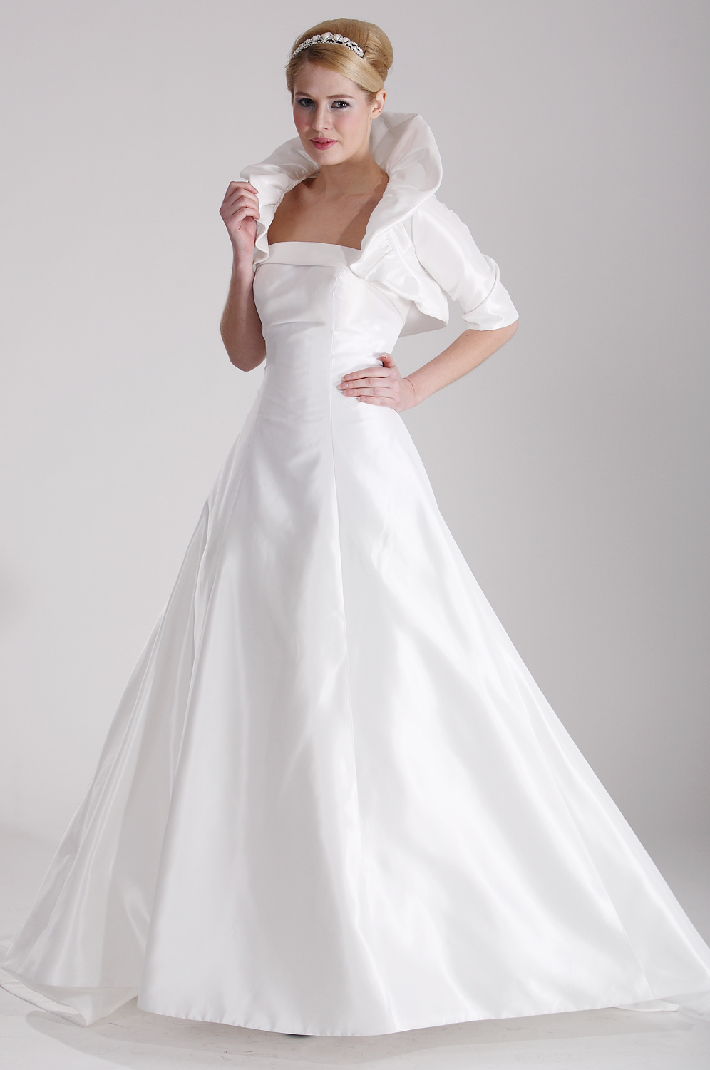 eDressit Pure White Bridal Gown (01100607)