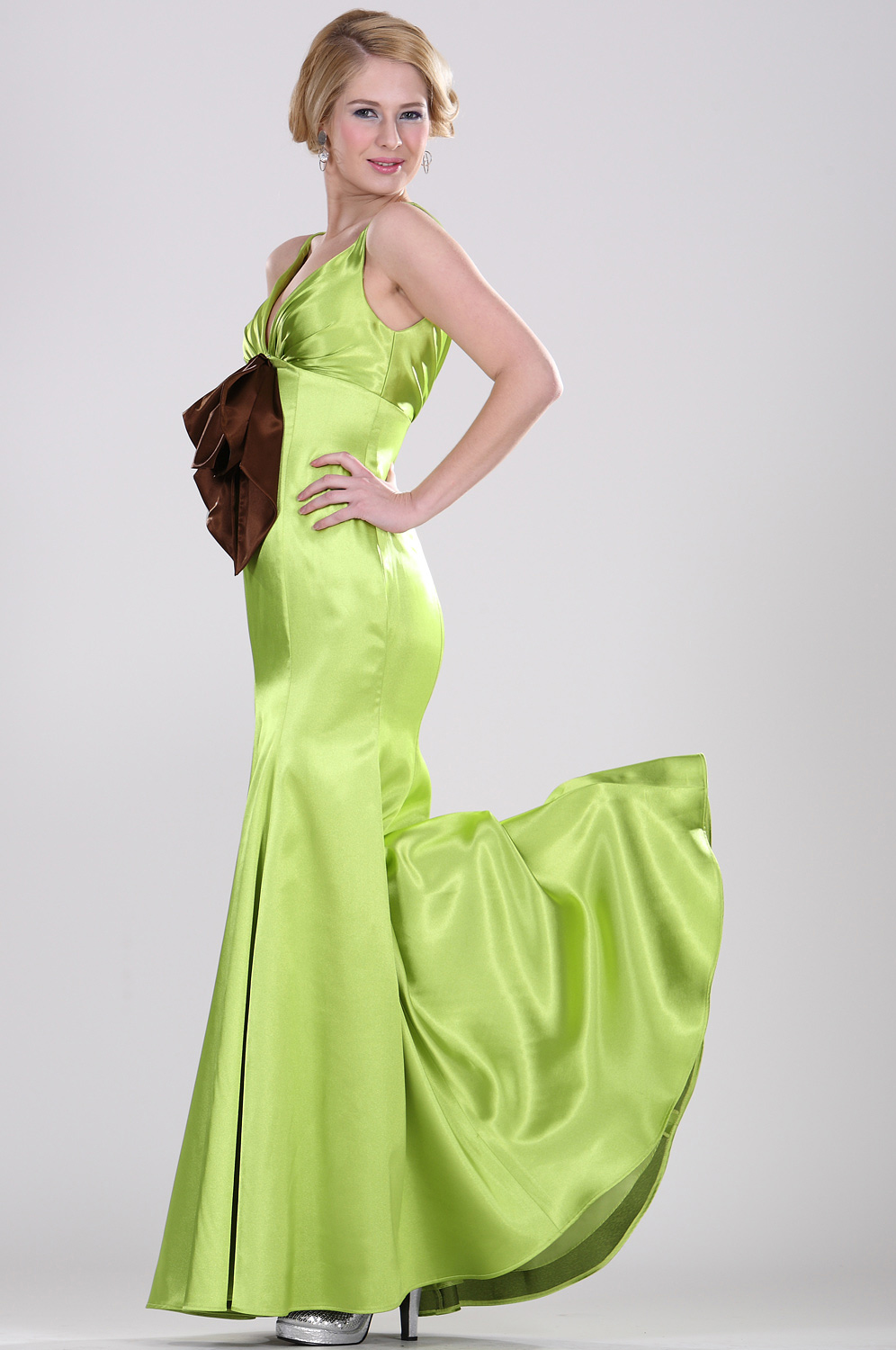 eDressit Cute Green Soiree Robe (00105304)