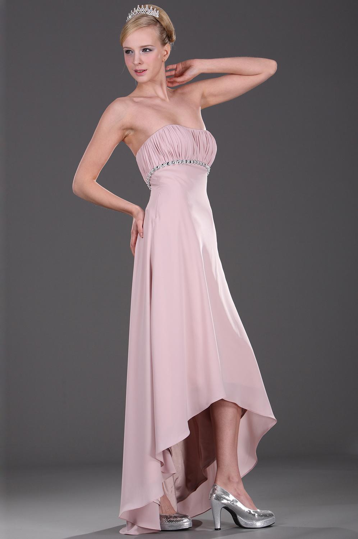 eDressit Vestido de Dama sin Tirante  con Adornos (07101601)