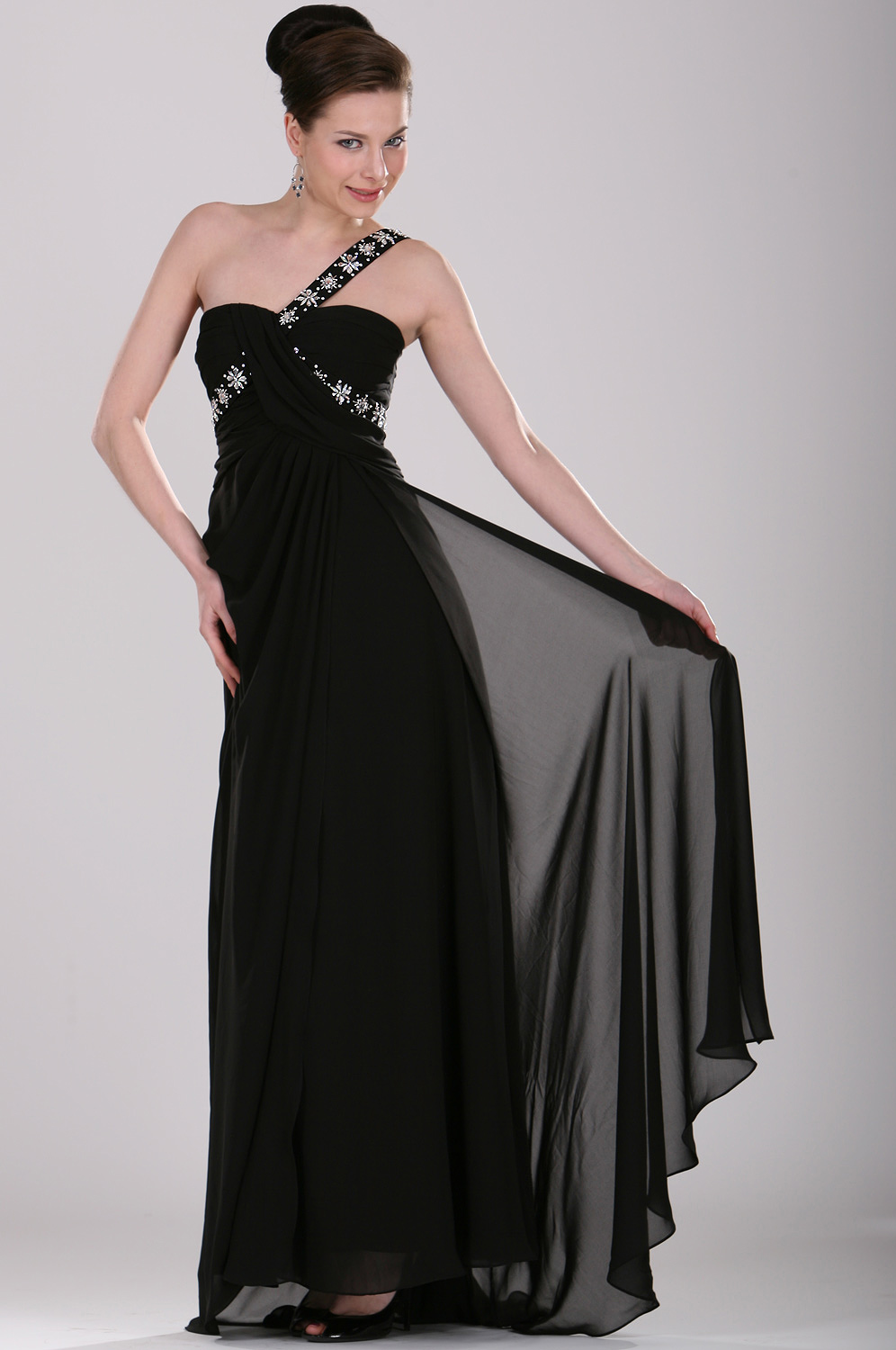 eDressit Brilliant Single Shoulder Evening Dress (00104000)
