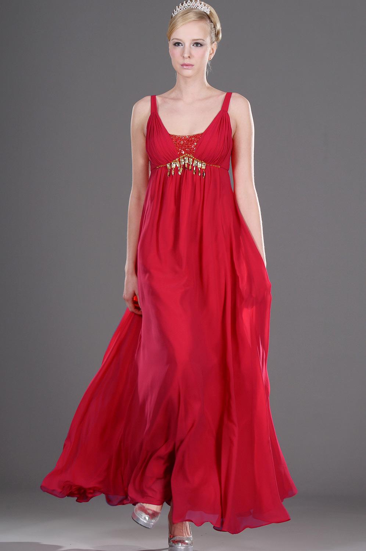 eDressit Träger  Elizabeth leuchtend Rot  Abendkleid (00105802)