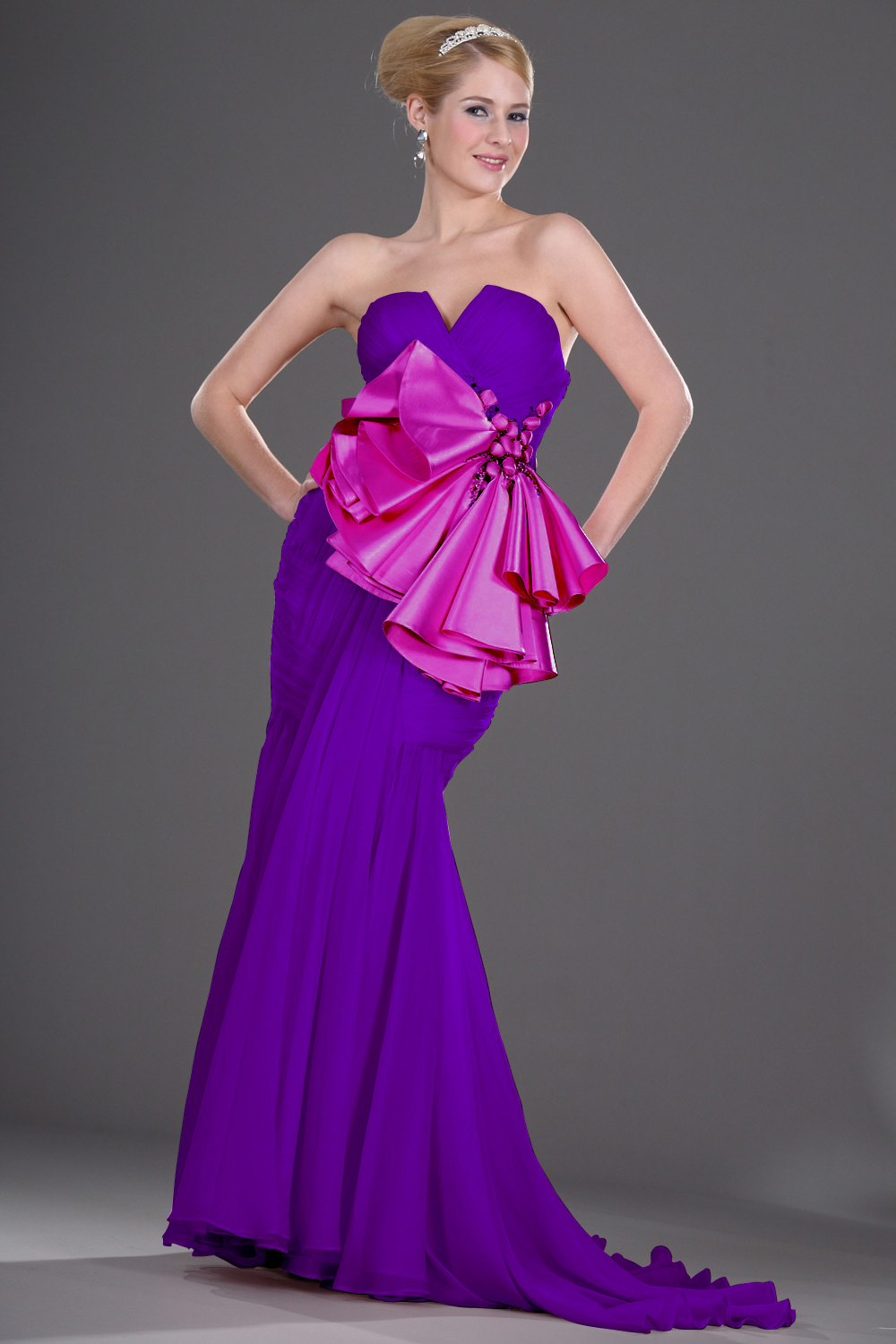 On Sale eDressit Pink Evening Gown (00106401A)
