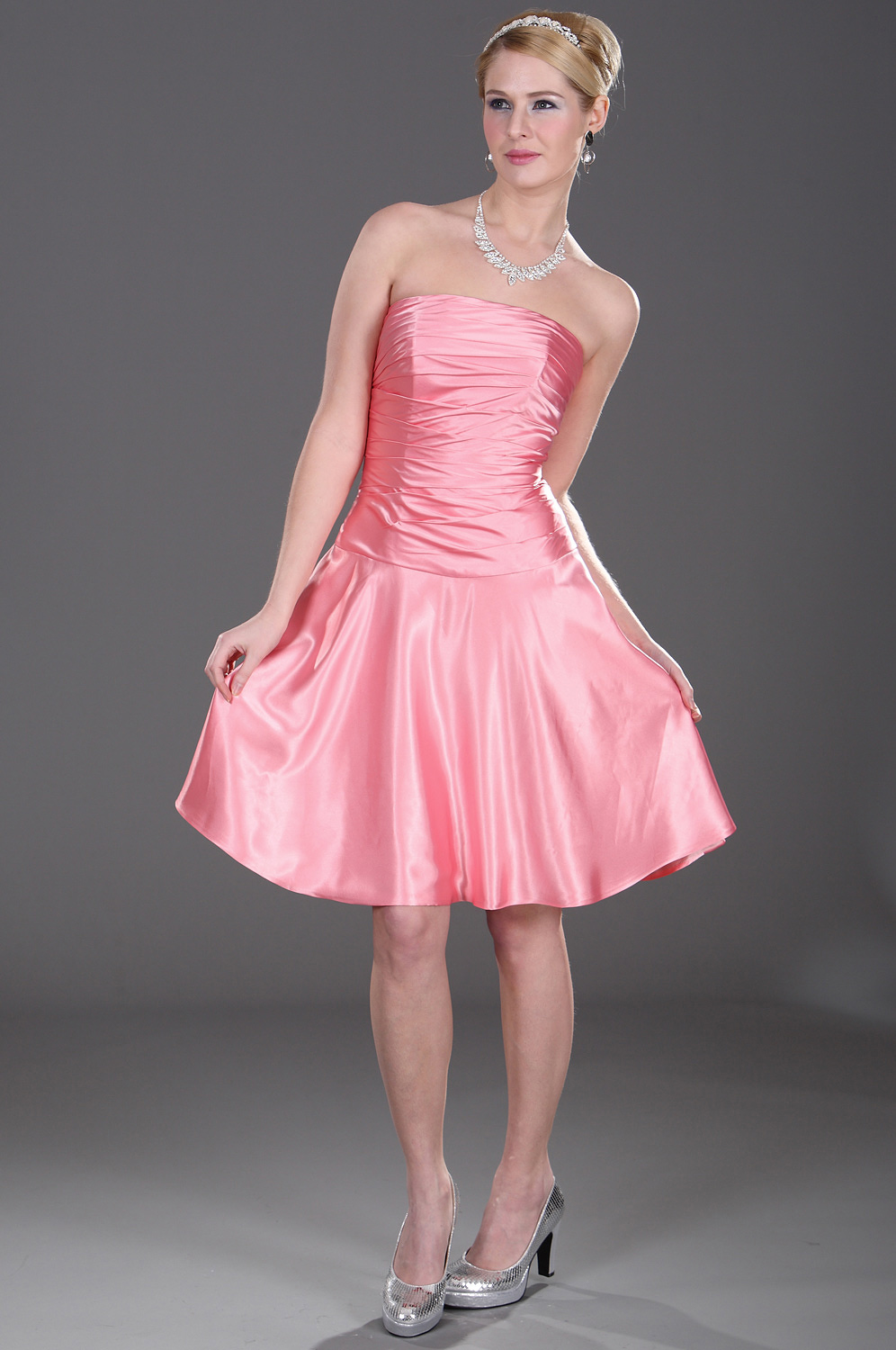 eDressit Adorable Pink Bridesmaid Dress (07100901)