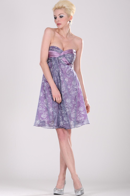 eDressit Прекрасное  коктейльное платье  без бретелек (04091806)
