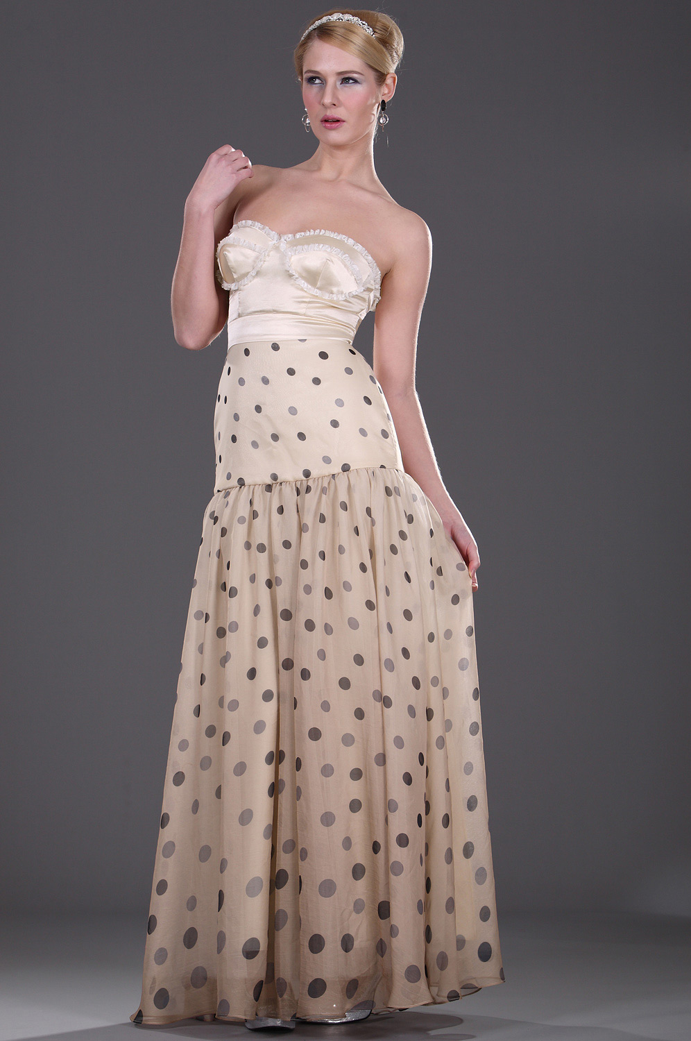 eDressit Adorable Strapless Soiree Robe (00106814)