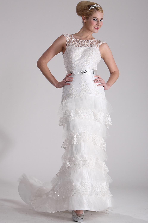 eDressit Удивительное фантастическое свадебное платье (01100407)