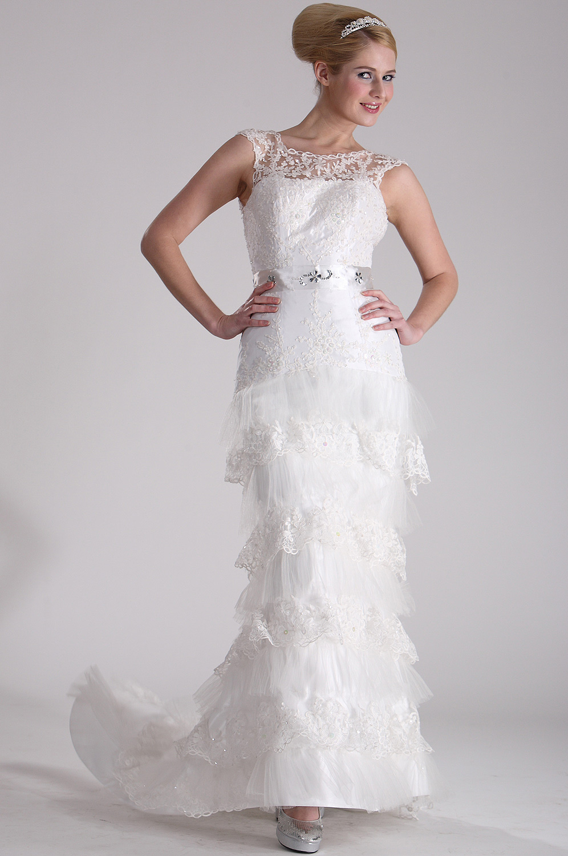 eDressit  Fantástico Vestido de Novia Blanco (01100407)