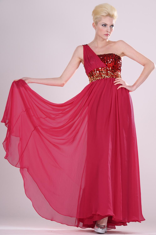 eDressit Apasionado vestido de noche Solo  Hombro (00104502)