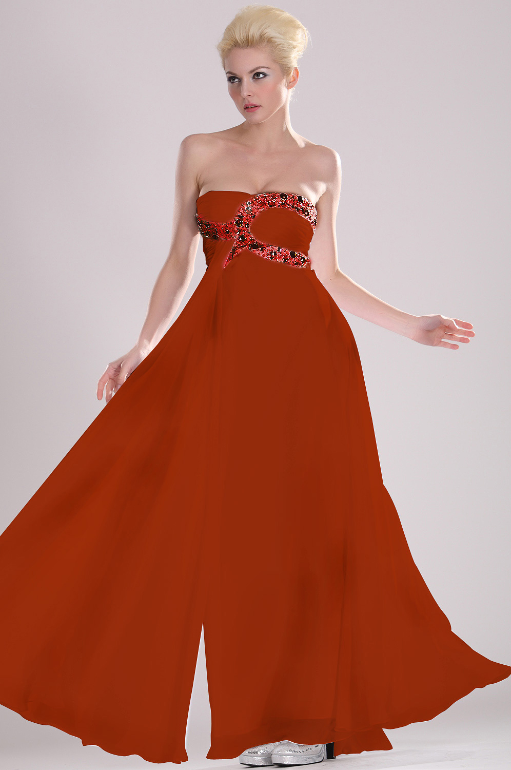 On sale eDressit Strapless Beaded Evening Dress (00104907a)