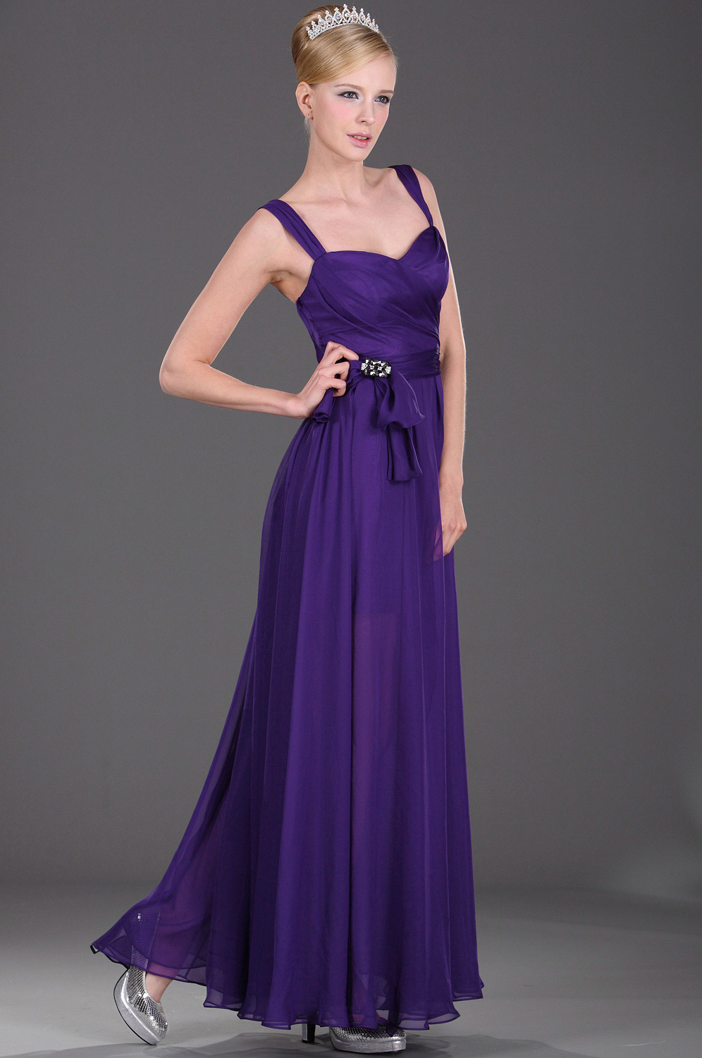 eDressit Elegant Beaded Evening Dress (00107906)