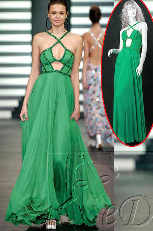 eDressit Green Evening Dress (00777504)