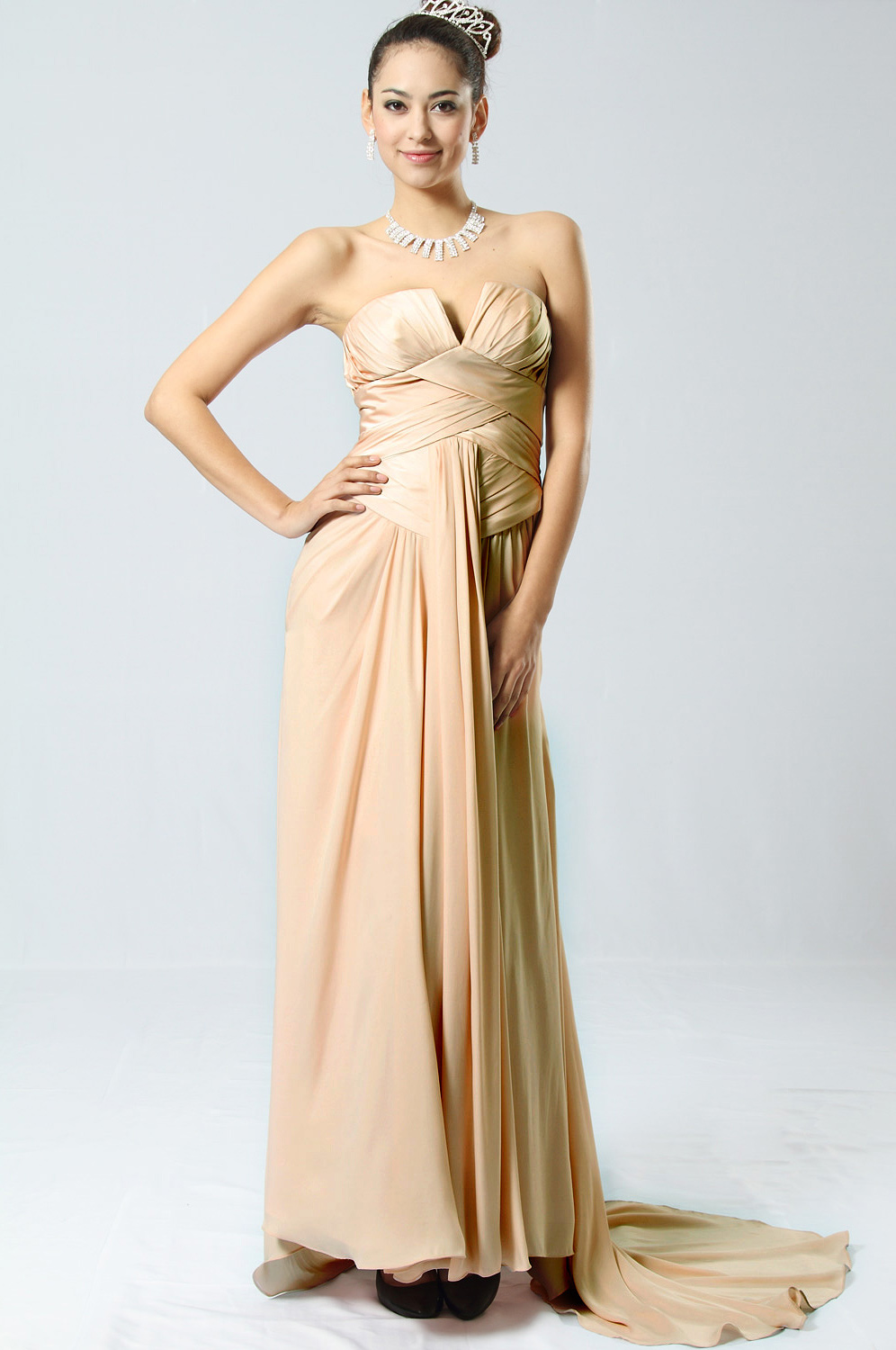 On Sale eDressit Strapless Evening Dress (00094201a)