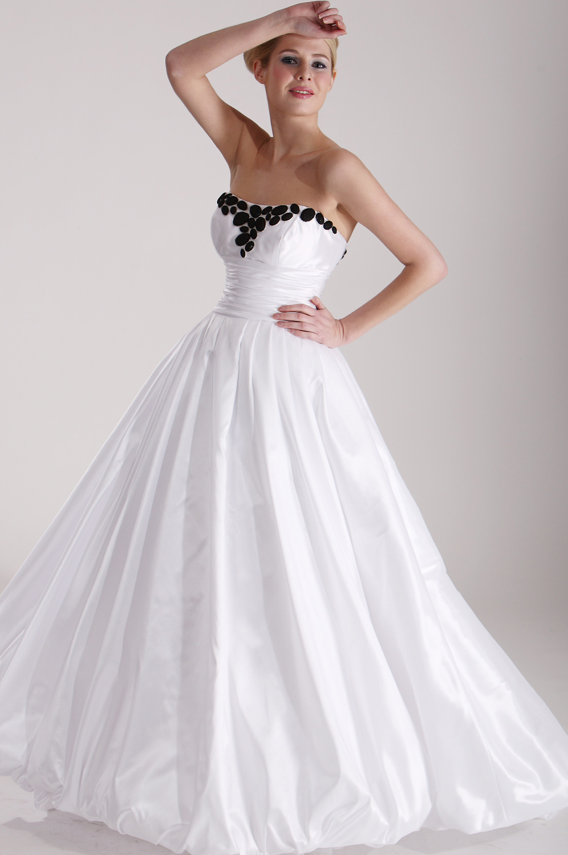eDressit Strapless White Bridal Gown (01100707)