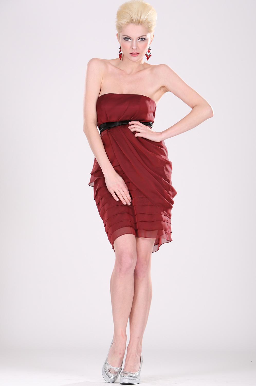 eDressit Vestido Corto Popular de Rojo (04100802)