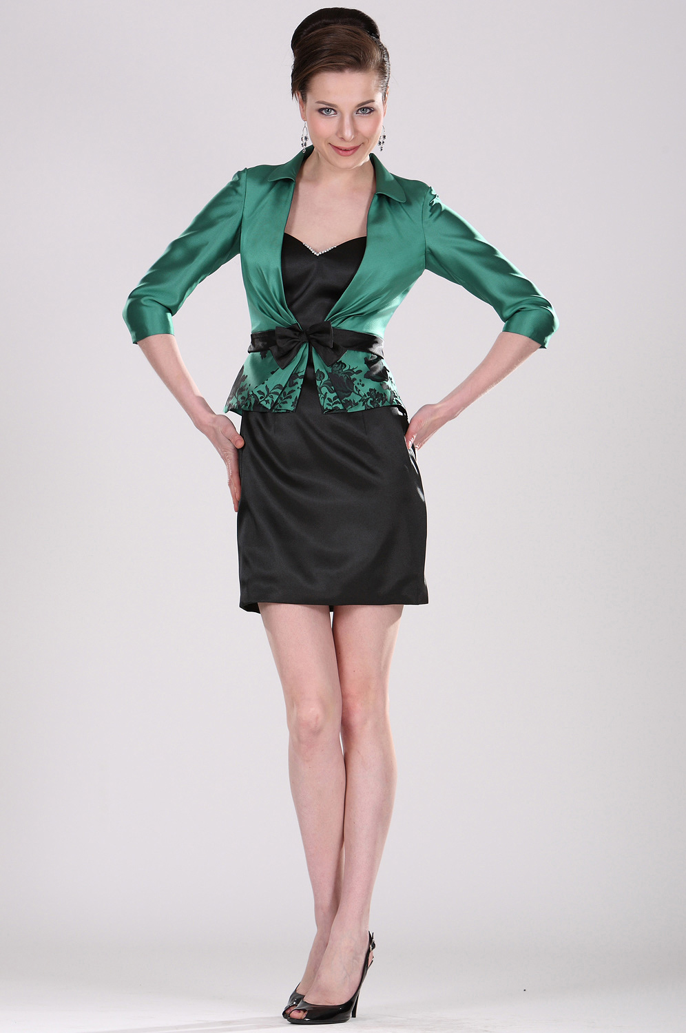 eDressit Sensitive Mother of the Bride Dress with Jacket (26101004)