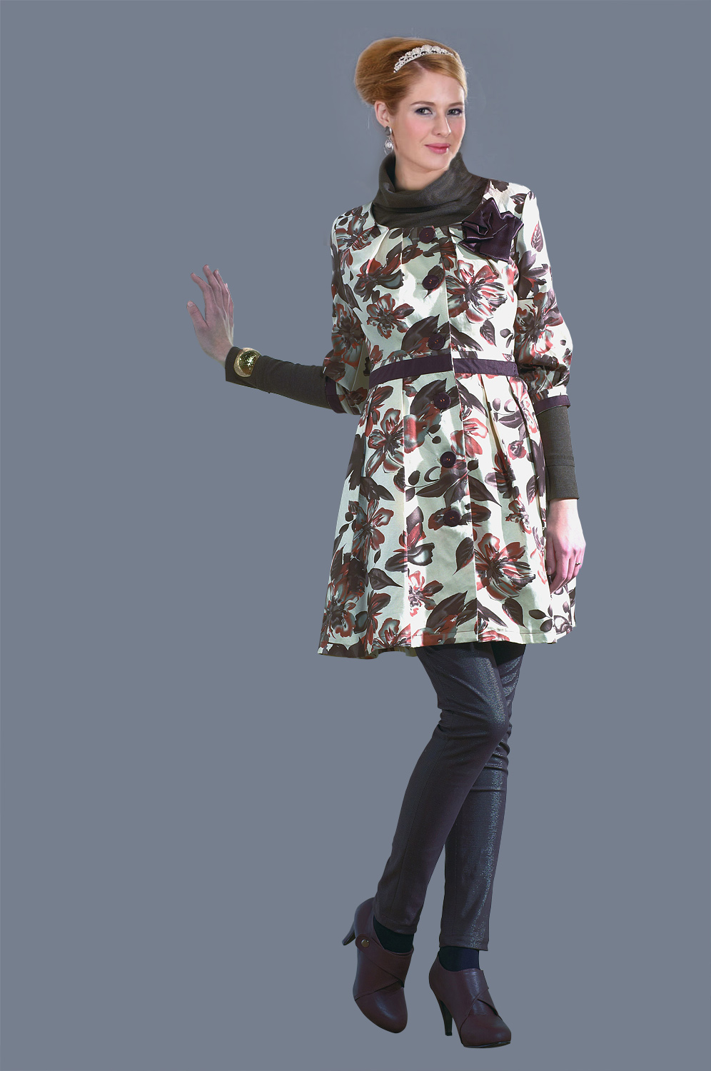 eDressit Charming Lady Coat (30100620)
