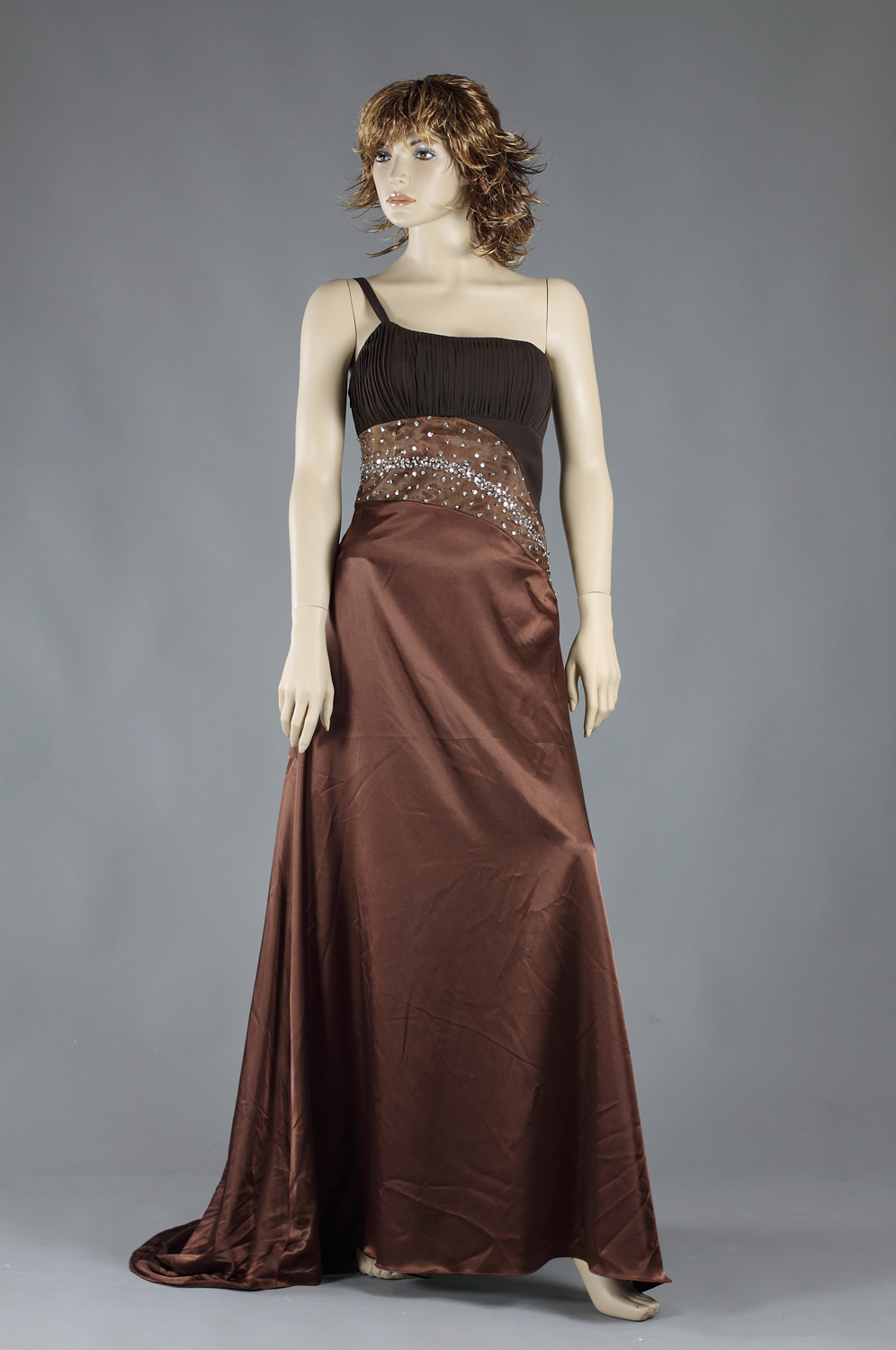 eDressit Chocolate Evening Dress- on sale (00778235s)