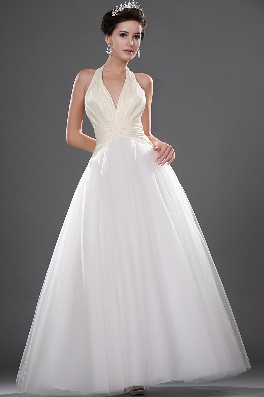 Правильная длина свадебного платья