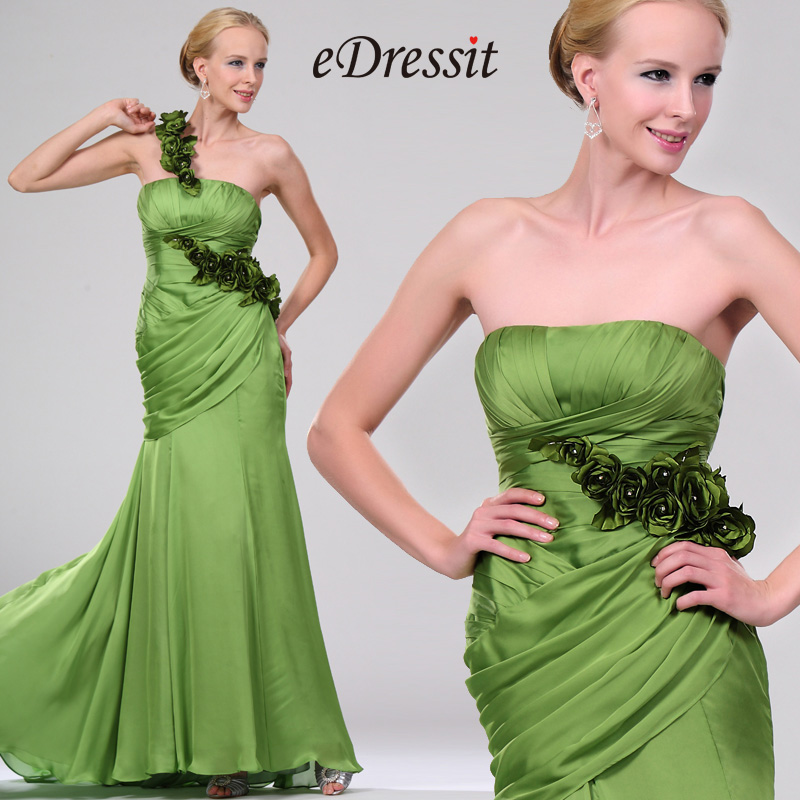 eDressit New Attractive Stylish Green Evening Dress (00110104)