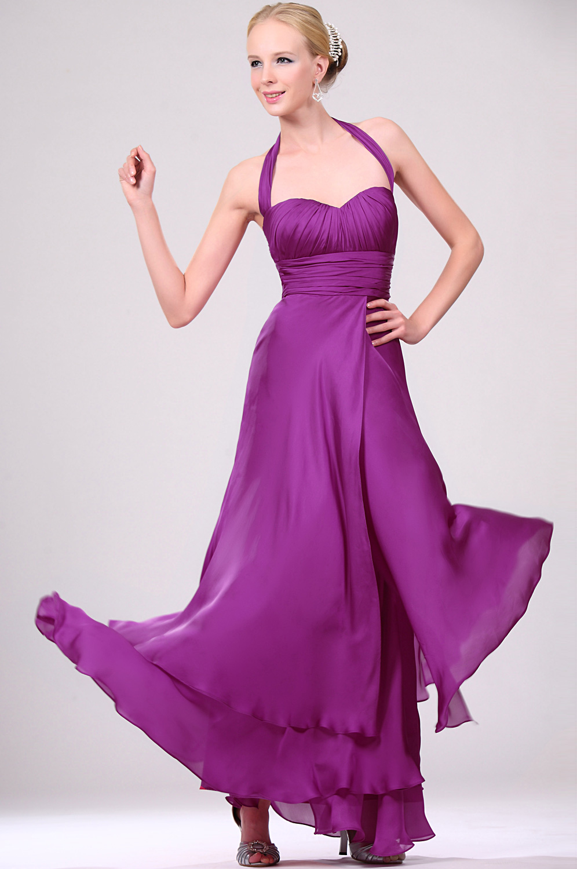 eDressit Elegante Halter Formal Vestido de Noche (00109212)
