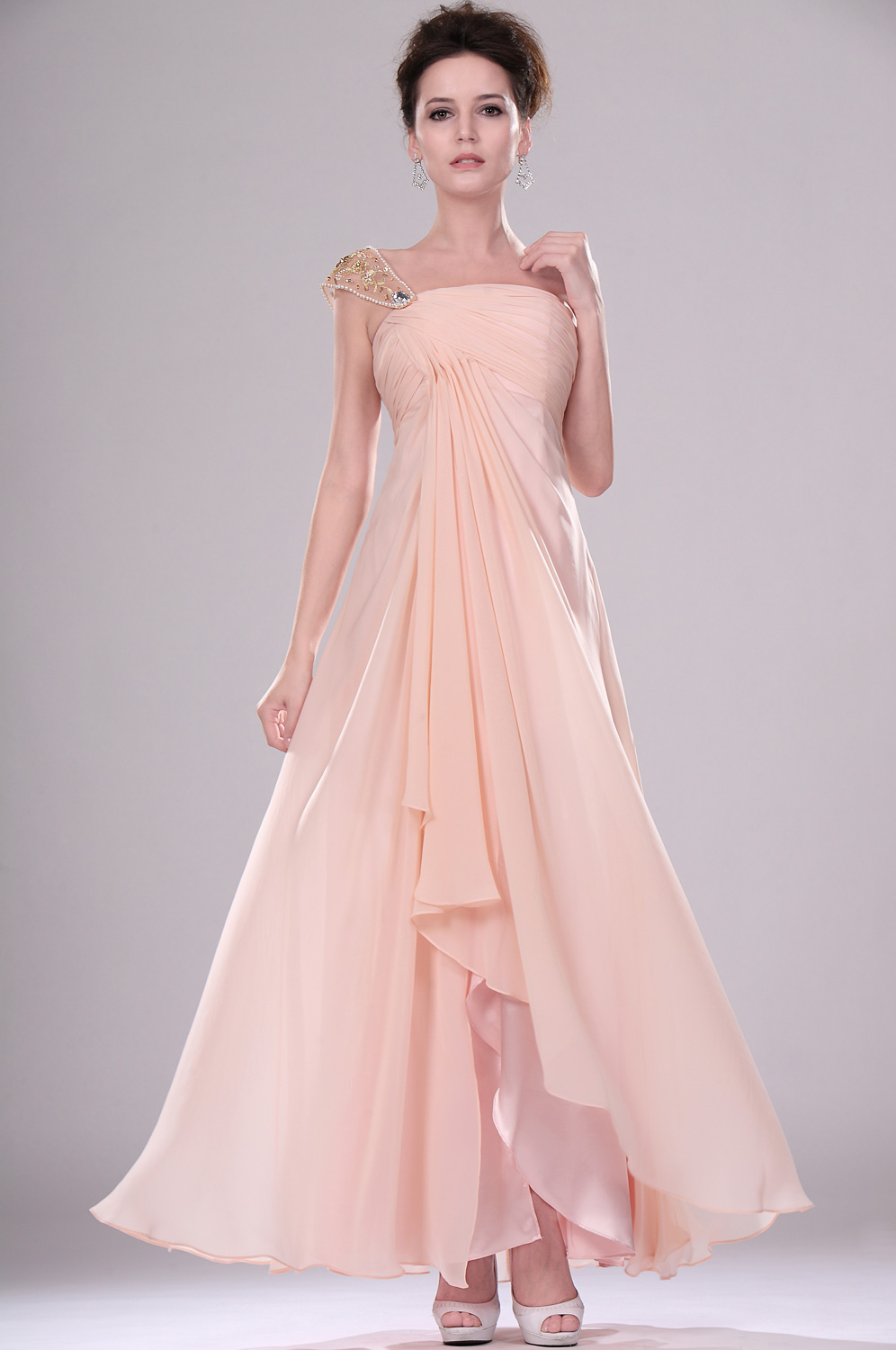 eDressit New Adoral One Shoulder Evening Dress (00115414)