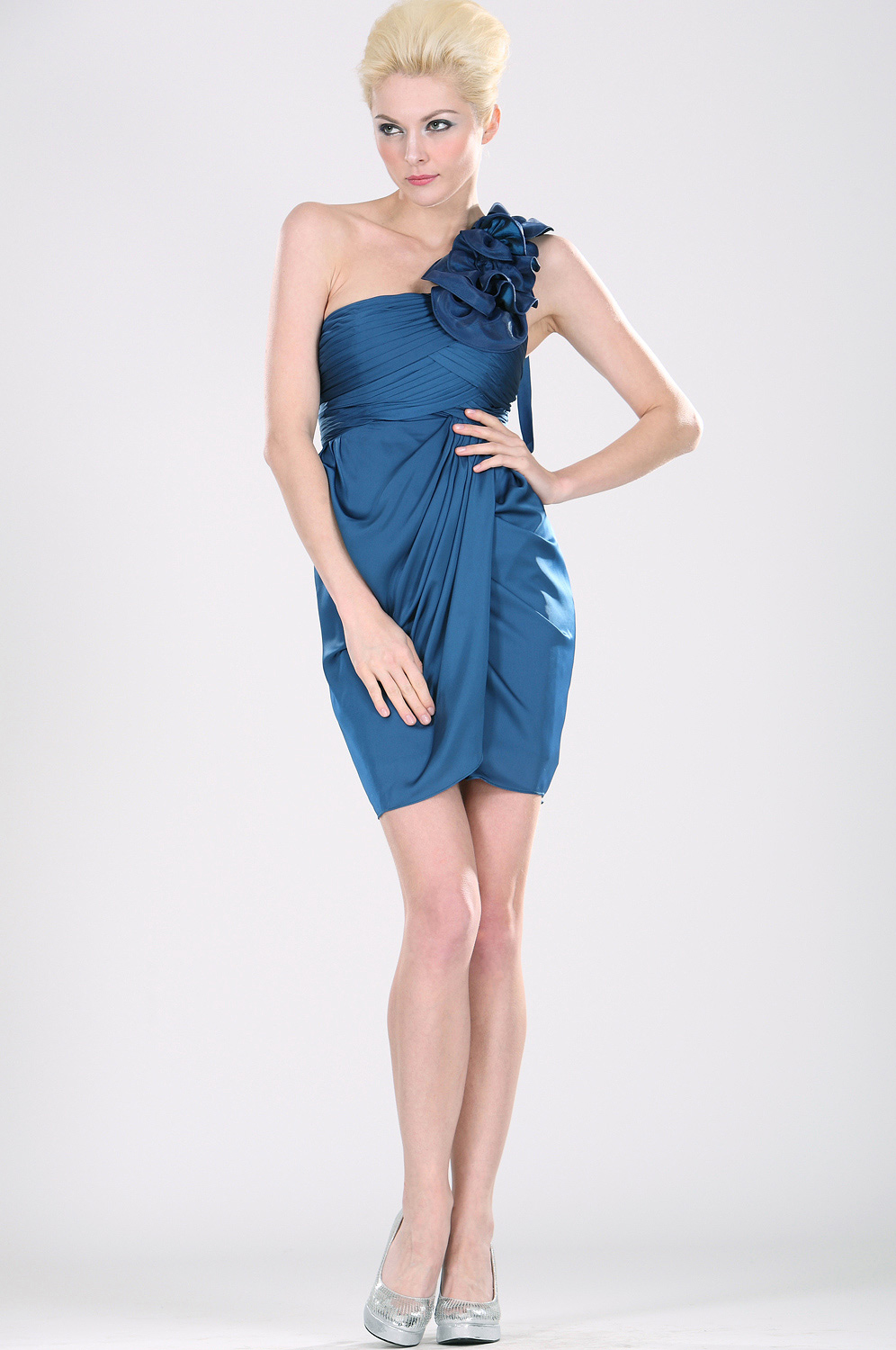 eDressit Amazing Single Shoulder Cocktail Dress (04100905B)