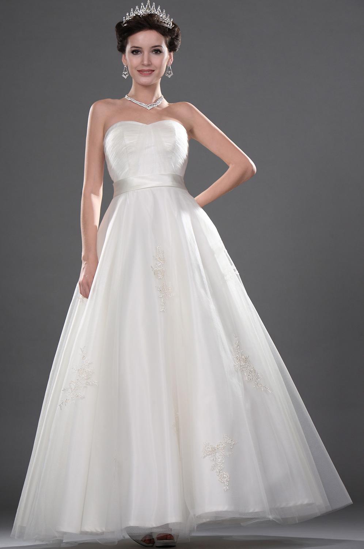 eDressit Новое элегантное милое  свадебное платье  без бретелек (01111007)