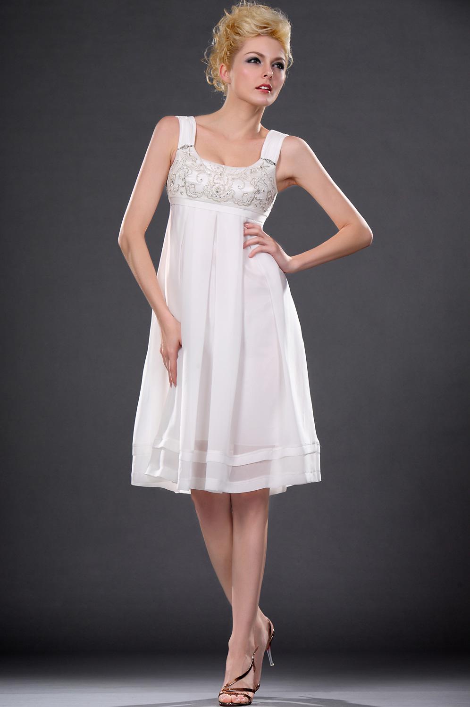 eDressit  Eleganz Weiss Cocktail Kleid (04113907)