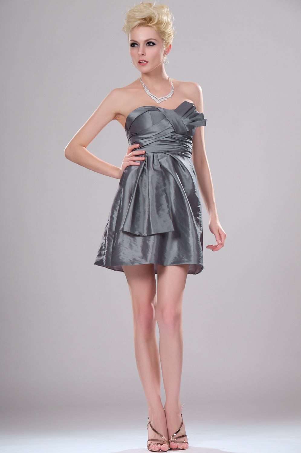 eDressit  Hot Style Shimmering Strapless Cocktail Dress (04113508)