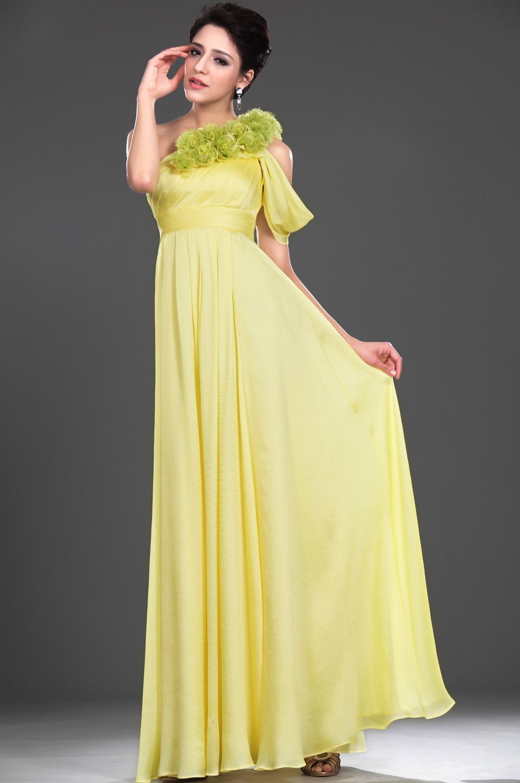 eDressit Robe de Soirée Séduction Jaune (00116303)