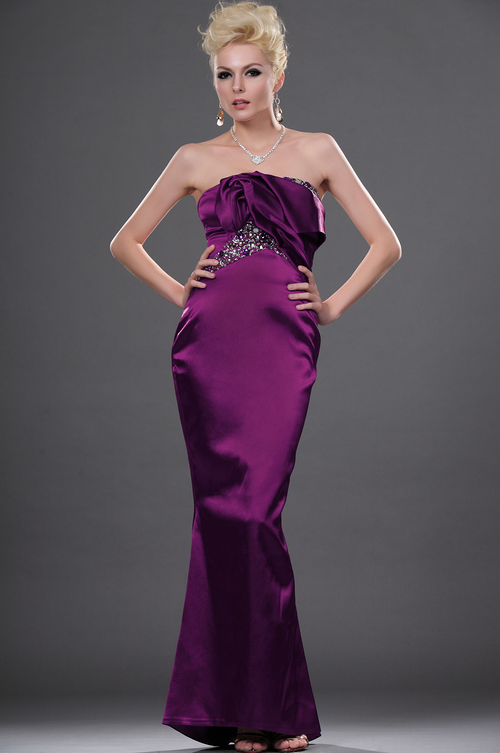 eDressit Unique Stylish Strapless Evening Dress (00112306)
