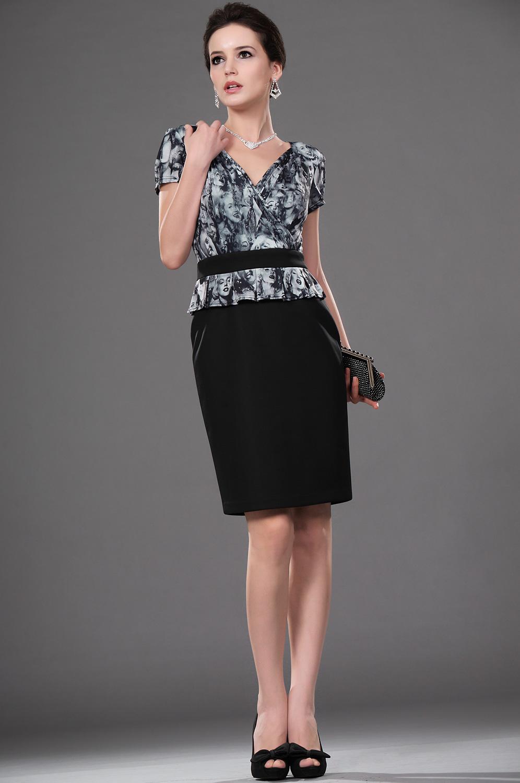 eDressit Popular estilo Casual vestido de trabajo para mujer (26111300)