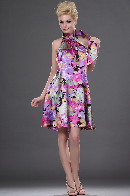 eDressit 2011 Цветочное стильное коктейльное платье (04111468)