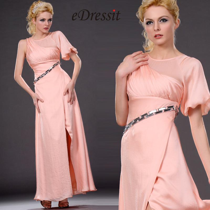 eDressit новое горячее розовее стильное вечернее платье (00111501)