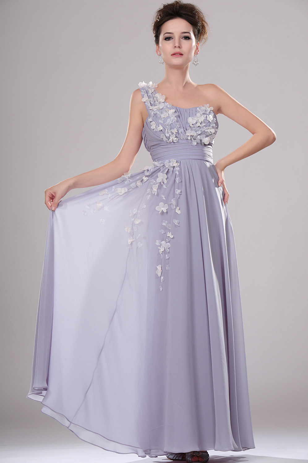 eDressit New Elegant One Shoulder Evening Dress (00114406)