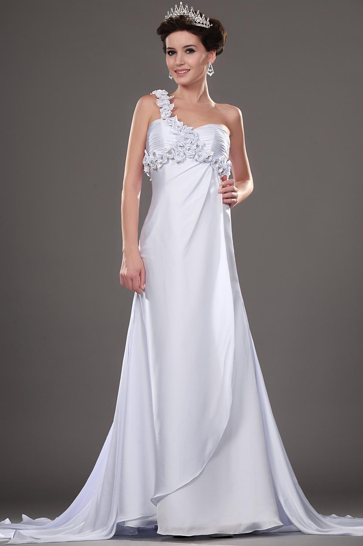 eDressit Neue Artikel Eleganz Brautkleid mit Blumen (01111207)