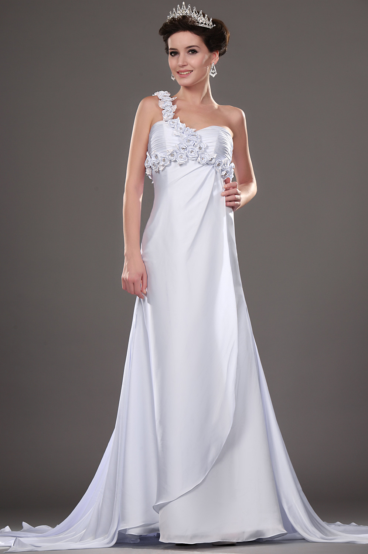 eDressit New Elegant Wedding Dress with Flowers (01111207)