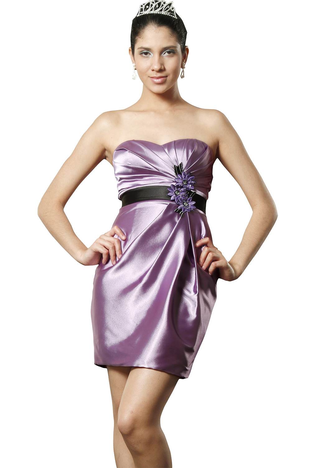 eDressit Elegant Strapless Cocktail Dress (04093906m)