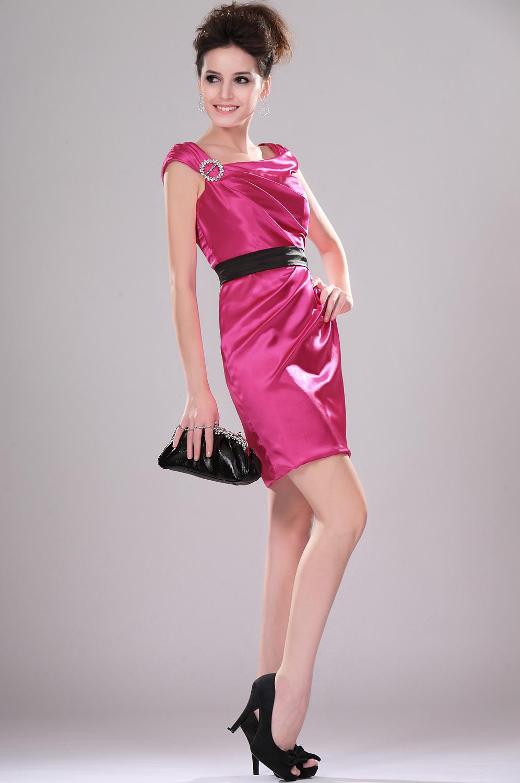 eDressit de moda Vestido de Fiesta/velada con pliegues Vestido de coctel (04112612)