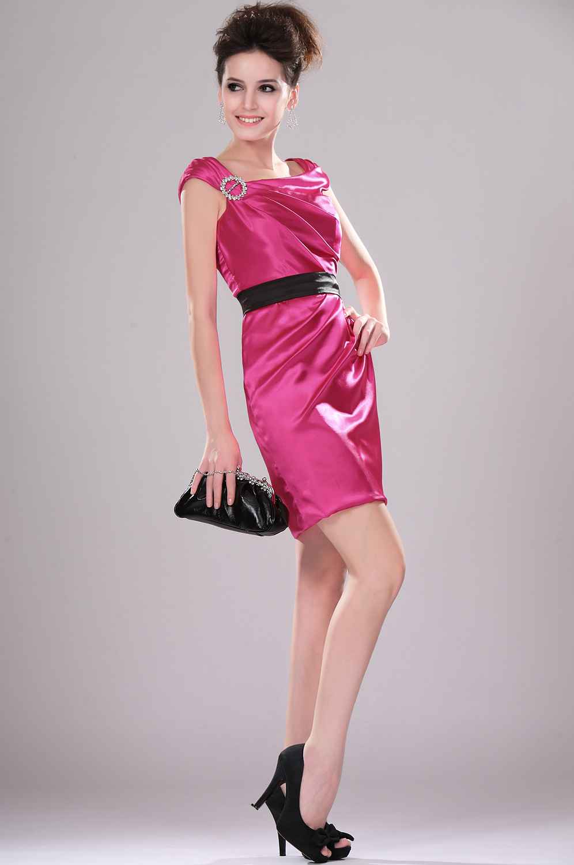 eDressit de moda Vestido de Fiesta/velada con pliegues Vestido de ...