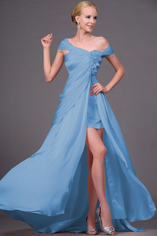 eDressit 2011 Nuevo Atractivo Fuera del Hombro Vestido de Noche con raja (00111101b)