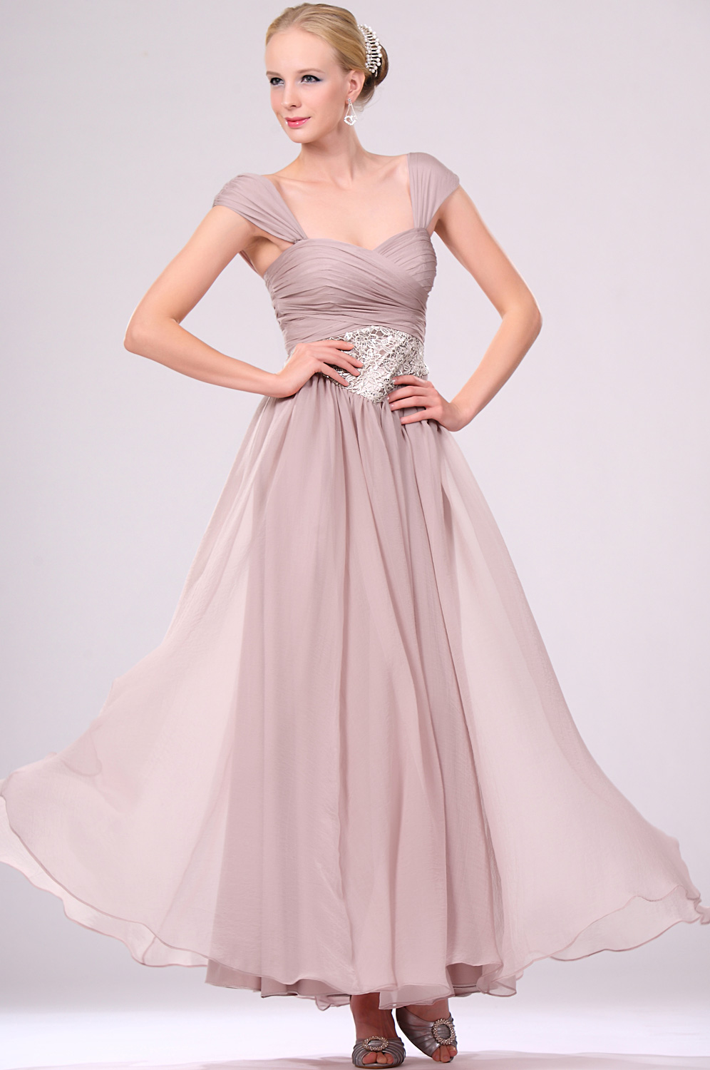eDressit 2011 New Stylish Cap-sleeve/Strapless Evening Gown (00105046)