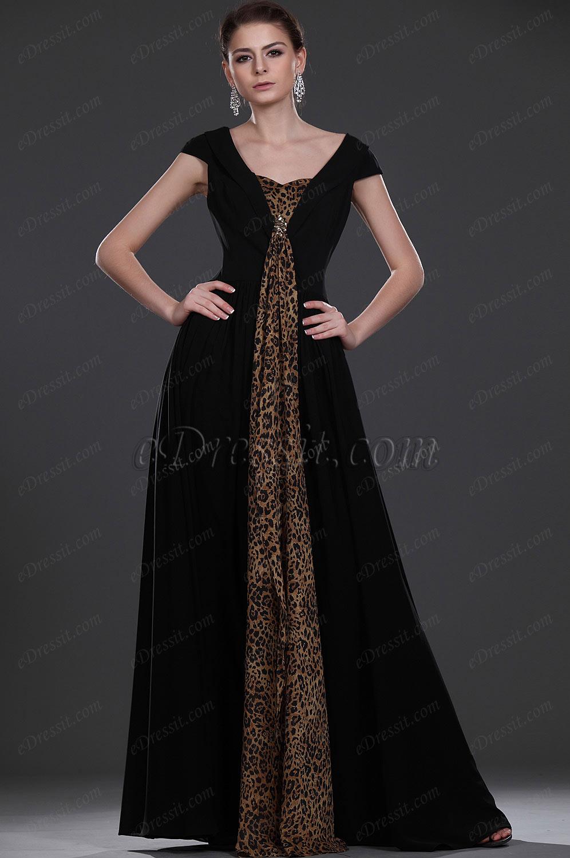eDressit Recien llegado Elegante Negro Vestido para ceremonia para dama (26114100)
