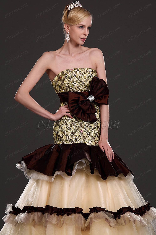 eDressit New Alluring Strapless Prom Gown (31110620)