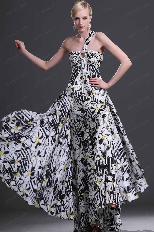 eDressit Novedad Elegante Solo Tirante vestido de noche vestido largo (00114500)