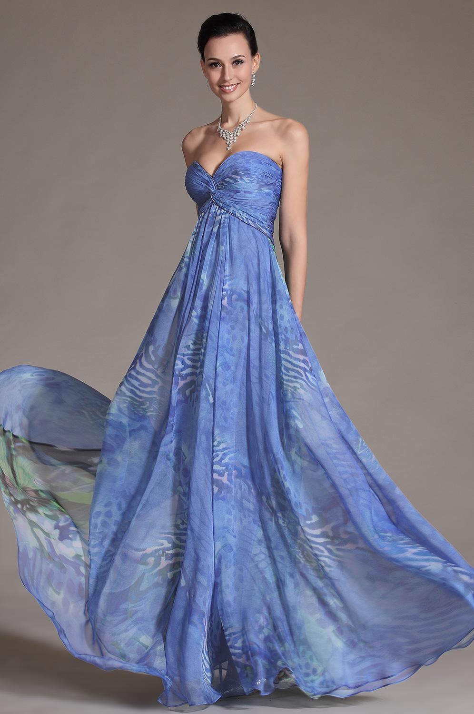 eDressit новое цветочное вечернее платье без бретелек (00105768)